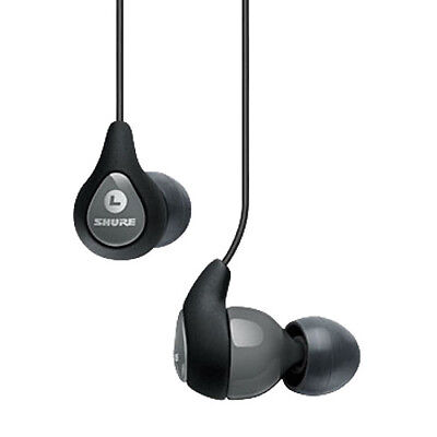 Shure SE112-GR Sound Isolating In-Ear Monitors - Grey