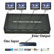 4 Way HDMI Splitter