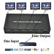 4 Way HDMI Splitter