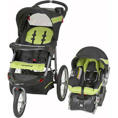 Baby Trend Expedition Jogger Travel System | Electric Lime TJ94439 New