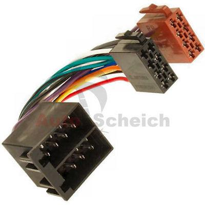 Radio Adapter Kabel ISO Stecker Buchse für Mercedes VIANO CLK A C E G S M V SLK A/c Kabel