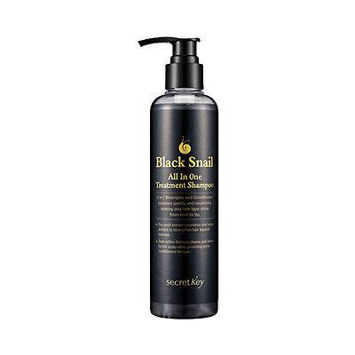 [Secret Key] Black Snail All In One Treatment Shampoo - 250ml