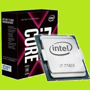 ★★★ Intel i7 - 7740X Quad Core CPU ★★★