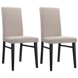*ELEMENTS* OAKLEY Transitional DINING CHAIRS - SAND