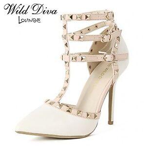 WILD DIVA Studded Heel