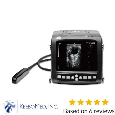 Kx5200v Veterinary Wrist Ultrasound With Rectal Probe 5.56.57.5mhz Keebomed