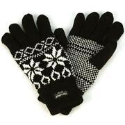 Mens Knit Gloves