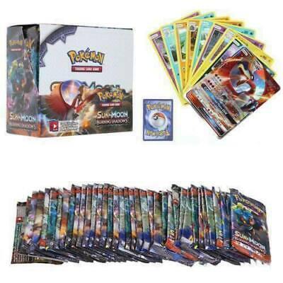 Neue324 Stück Pokemon GX TCG Booster Box SONNE&MOND