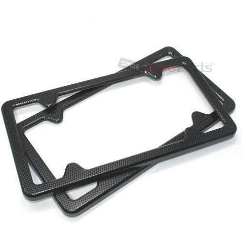 Carbon Fiber License Plate Frame Ebay