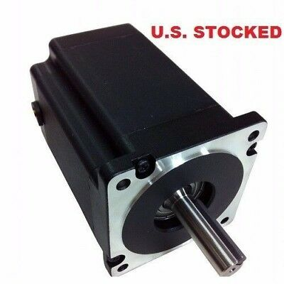 2pcs Nema34 Stepper Motor1200ozin 6amp Single Shaft Kl34h2120-42-8a With Key