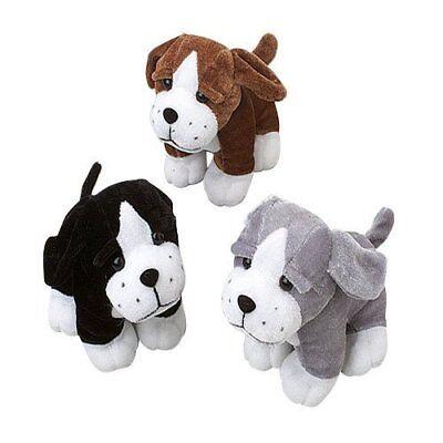 US Toy Sitting Puppy Dog Stuffed Animals Plush , Assorted Co