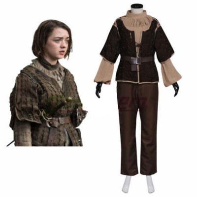 Game of Thrones Arya Stark Cosplay Costume Adult Women's - Game Of Thrones Arya Costume