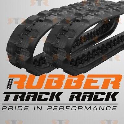 Set Of 2 Ctl Rubber Track Size 320x86x49 - Bobcat T180 T190 Cat 239d 249bd
