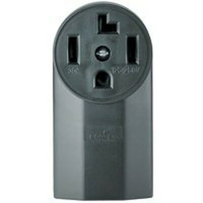 NEW COOPER 1225 POWER RECEPTACLE 30 AMP 4 WIRE DRYER RANGE USA MADE 687-7492 ()