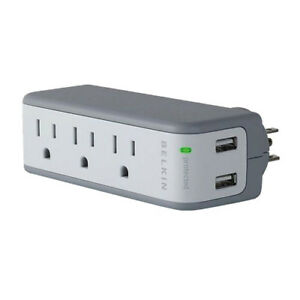 Belkin 3-Outlet Surge Protector with Dual USB