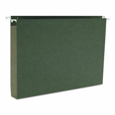Smead Box Bottom Hanging File Folders Legal Size Standard Green 25box