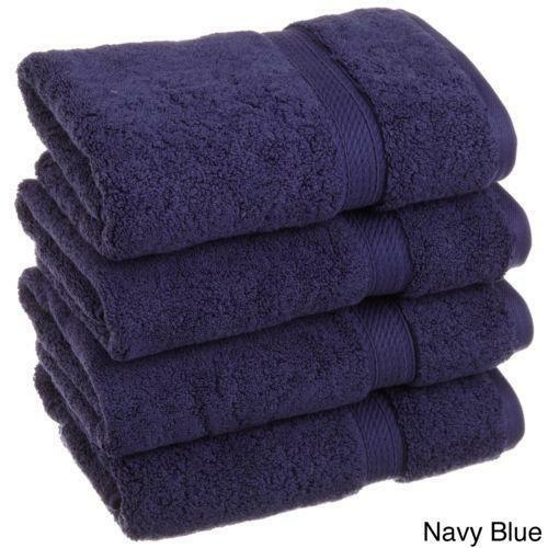Navy Blue Hand Towels Ebay