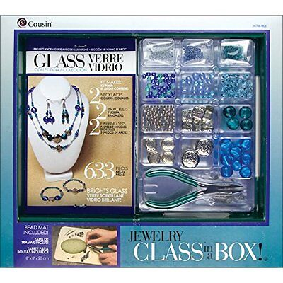 Jewelry Basics Class In A Box Kit, Bright Glass , New, Free Shipping