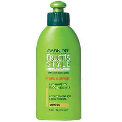 Garnier Fructis Style Sleek & Shine Smoothing Milk, 5.1 Fl Oz 150ml