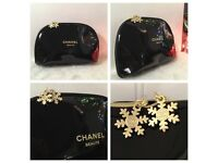 CHANEL Cosmetic Set Of 3 Make Up Bags!