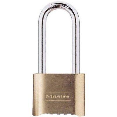 Master Lock175dlh Resettable Combination Padlock 516 2-14 X Brass