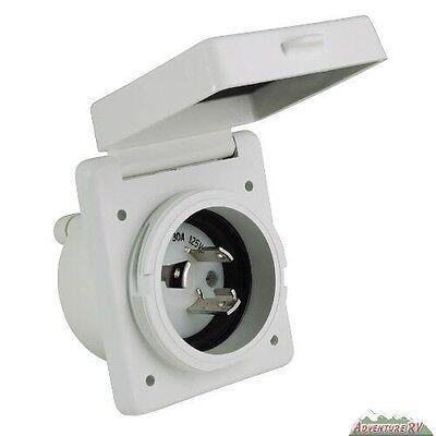 Marine Twist Lock (Cynder RV/Marine Easy Twist Lock Inlet Standard 30 Amp 125/250 00629 )