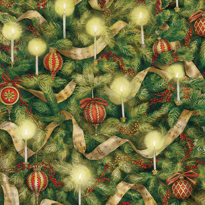 Paper Company Tree (K & Company: 12x12 Christmas Tree Closeup 2pc Scrapbook Paper )