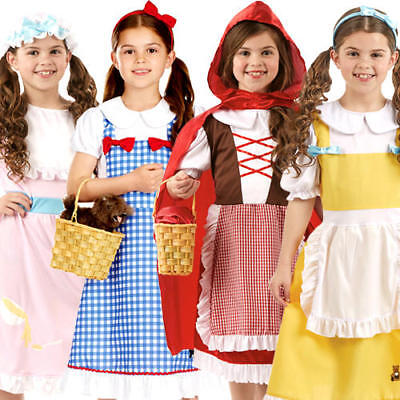 Traditional Fairy Tale Girls Fancy Dress World Book Day Childrens Kids Costumes