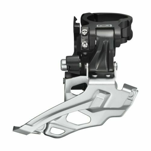 Bicycle DEORE FD-M6025 2 Speed Top Swing Front Derailleur Clamp Mount 34.9mm
