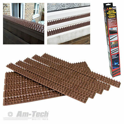 Fence Wall Spikes AntiClimb Guard Security spikes Bird Repellent Deterrent 4.5mt