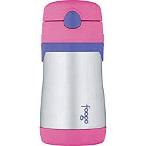 Thermos Foogo Vacuum Insulated Stainless Steel 10-Ounce Stra