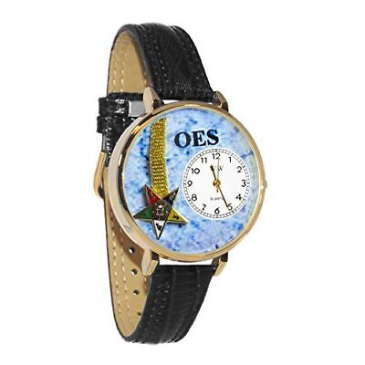 Whimsical Watches Unisex U0710010 Order of the Eastern Star Navy Blue Leather Wa