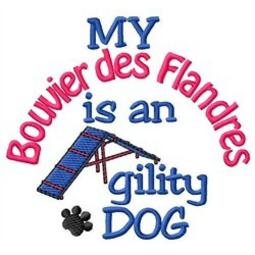 My Bouvier des Flandres is An Agility Dog Long-Sleeved T-Shirt DC1744L