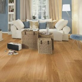 New - Boen - Oak Brushed Andante - Lacquered - Engineered - Hardwood Flooring