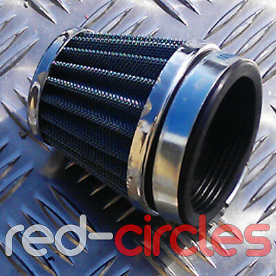 50MM KN STYLE MOTORCYCLE PERFORMANCE POWER AIR FILTER HONDA <em>YAMAHA</em>