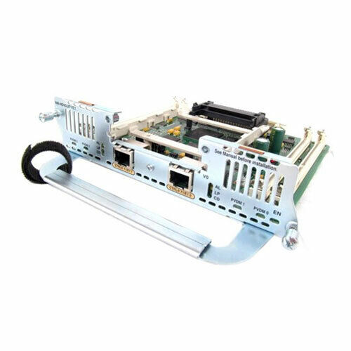 Cisco NM-HDV2-2T1/E1, 1 Year Warranty and Free Ground Shipping