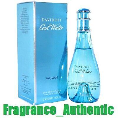 Cool water by Davidoff Perfume Deodorant 3.4 oz Spray Women