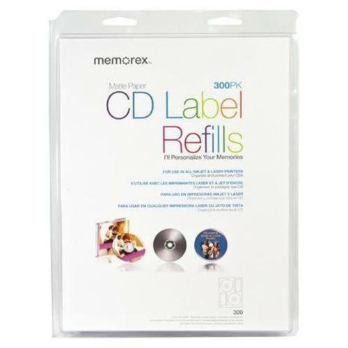 Memorex CD Labels 300