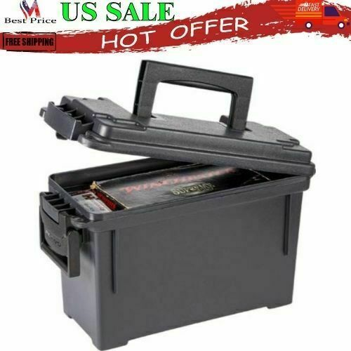 Plano Field/Ammo Box | Heavy-Duty Storage Case for Hunting Shooting Ammunition