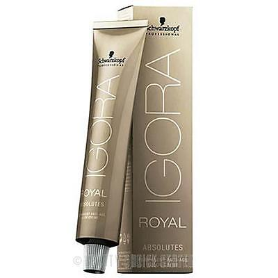 IGORA ROYAL ABSOLUTES Age Blend H/ Color 7-450 Medium Blonde Natural Beige Gold