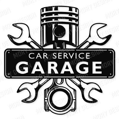 Car Repair Garage Service Dxf Of Cnc Plasma Router Laser Dxf - Cdr - Eps - Svg