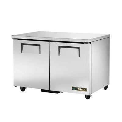 True Tuc-48 Undercounter Refrigerator 2 Door 12 Cu. Ft.