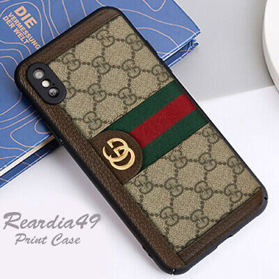 Cover Phone Case iPhone 7 Plus 8 X XR XS Guccy411xCases 11 Pro Max D015 Strip