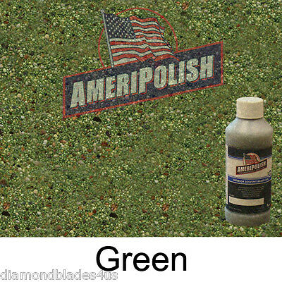 1 Gl. Green Concrete Color Dye 4 Cement Stain Ameripolish Solvent Based