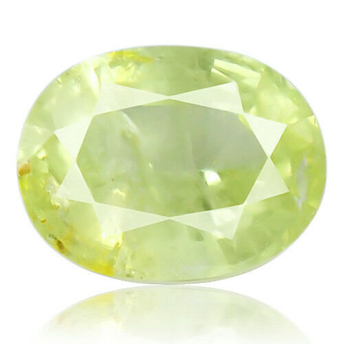 Tsavorite Family Garnet 5.25ct yellowish green color 100% natural earth mined