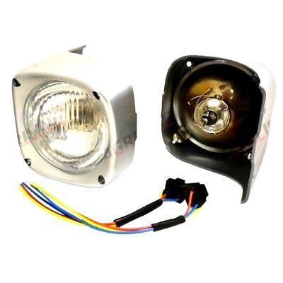 Headlights Pair For Massey Ferguson 135 148 165 168 175 178 185 188 Tractors