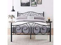 Bed + mattress new
