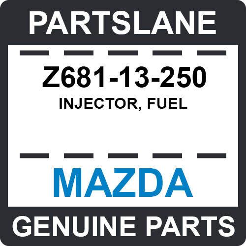 Z681-13-250 Mazda Oem Genuine Injector, Fuel
