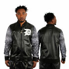 Polyester Track Jacket Black Activewear Jackets for Men