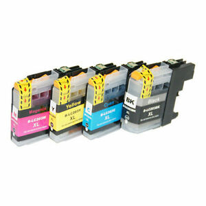 Brother LC203 BK/C/M/Y New Compatible Ink Cartridges Combo
